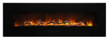"Amantii 70"" Wall Mount/Flush Mount Electric Fireplace (WM-FM-60-7023-BG) - Electric Fireplace Shop"