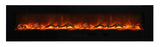 "Amantii 100"" Wall Mount/Flush Mount Electric Fireplace (WM-FM-88-10023-BG) - Electric Fireplace Shop"
