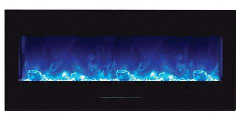 "Amantii 50"" Built-In/Wall Mount Electric Fireplace (no log set) WM -FM-BG-NOLOG - Electric Fireplace Shop"