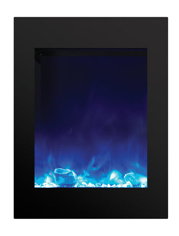 "Amantii 29"" X 39"" Vertical Built-In Electric Fireplace - Electric Fireplace Shop"