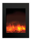"Amantii 29"" X 39"" Vertical Built-In Electric Fireplace (ZECL-2939-BG) - Electric Fireplace Shop"