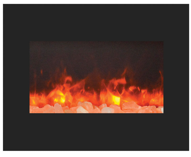 "Amantii 29"" Built-In Zero Clearance  Electric Fireplace (ZECL-26-2923-BG) - Electric Fireplace Shop"
