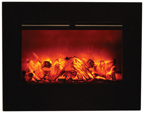 "Amantii 29"" Built-In Flush Mount Electric Fireplace (ZECL-26-2923-FLUSHMT-BG) - Electric Fireplace Shop"