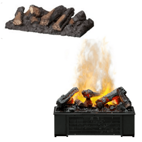 Dimplex Opti-Myst Logset for 500mm Opti-myst Pro Cassette (CDFILOG) - Electric Fireplace Shop