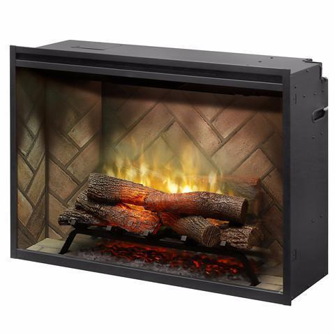 "Dimplex Revillusion 36"" Built In Electric Firebox (RBF36) - Electric Fireplace Shop"