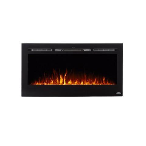 "Image of Touchstone Sideline 40"" Recessed Electric Fireplace (80027) - Electric Fireplace Shop"