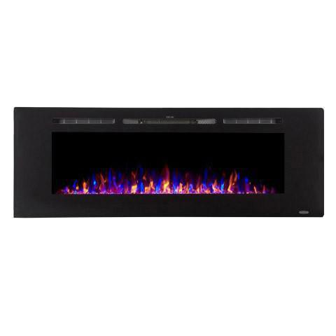 "Image of Touchstone Sideline 60"" Recessed Electric Fireplace (#80011) - Electric Fireplace Shop"