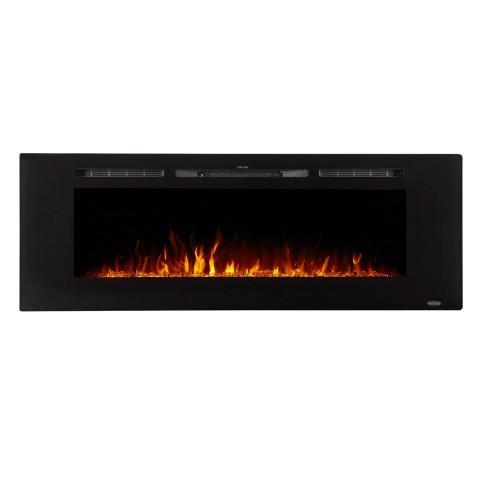 "Touchstone Sideline 60"" Recessed Electric Fireplace (#80011) - Electric Fireplace Shop"