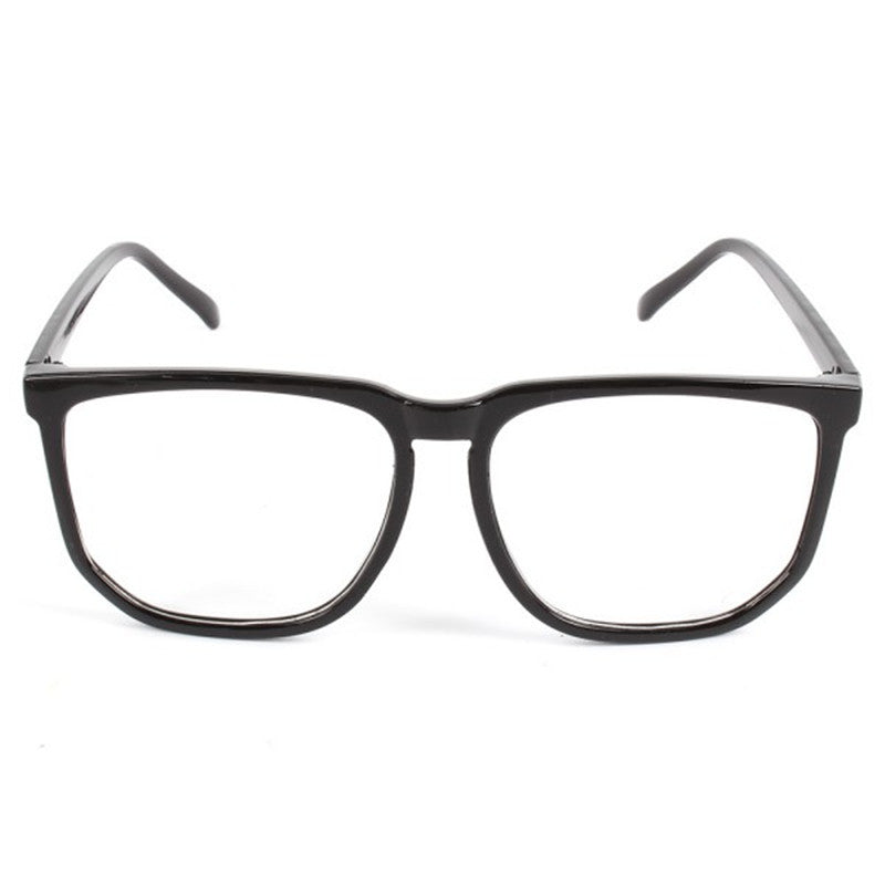 brand new nice cheap official shop Unisex Square Frame Glasseen Eyewear Clear Lens Nerd Geek Glasses ...