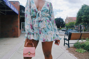 Shay Floral Romper