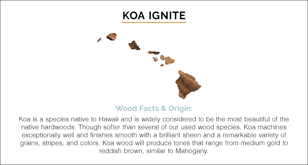 Koa Ignite by Revival by Martin and Co