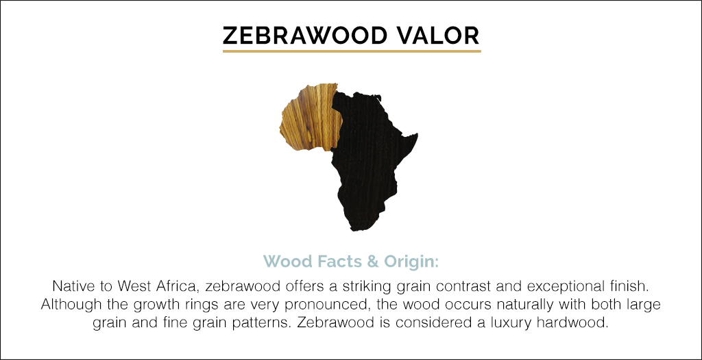 Gold Zebrawood Valor Revival by Martin and co