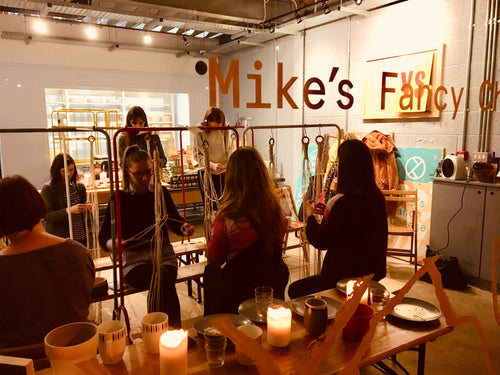 ASTRL Fibres Macramé Plant Hanger Workshop ~ 6-9pm Thursday June 6th @ Mikes Fancy Cheese