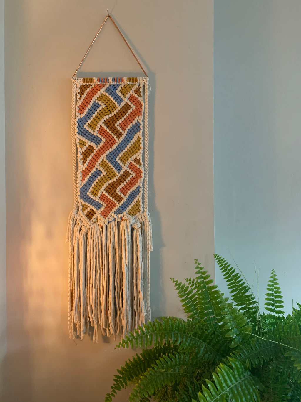 The Tessera Macramé Tapestry