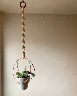 The Saturn Plant Hanger