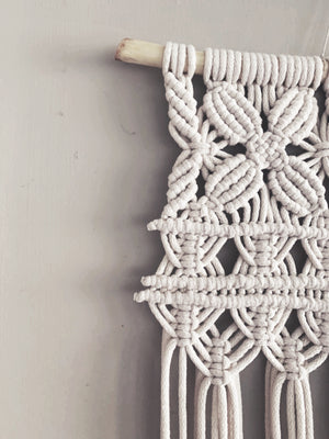The Almanac  Macramé Tapestry