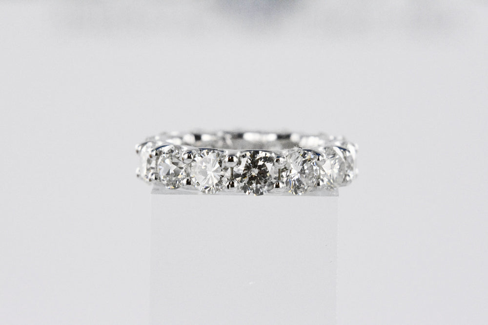6.22 TW White Gold Diamond Eternity Band
