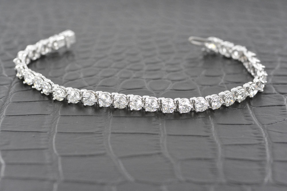 Diamond Tennis Bracelet 10 Carat TW Ladies