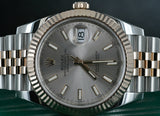 Rolex Datejust 41 Two Tone Rose Gold and Steel 126331