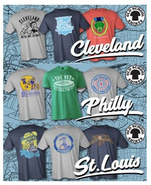 Old School Shirts Cities
