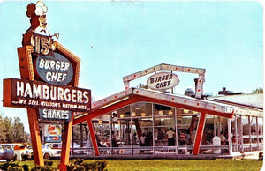 Burger Chef Menu and Restaurants were Innovative