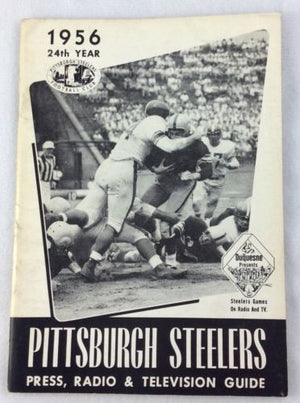 1956 Steelers program