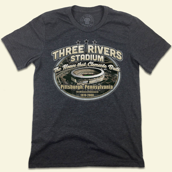 Three Rivers Stadium The House That Clemente Built T-shirt
