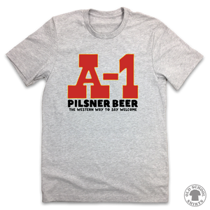 A-1 Pilsner - Old School Shirts- Retro Sports T Shirts