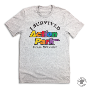 I Survived Action Park - Old School Shirts- Retro Sports T Shirts