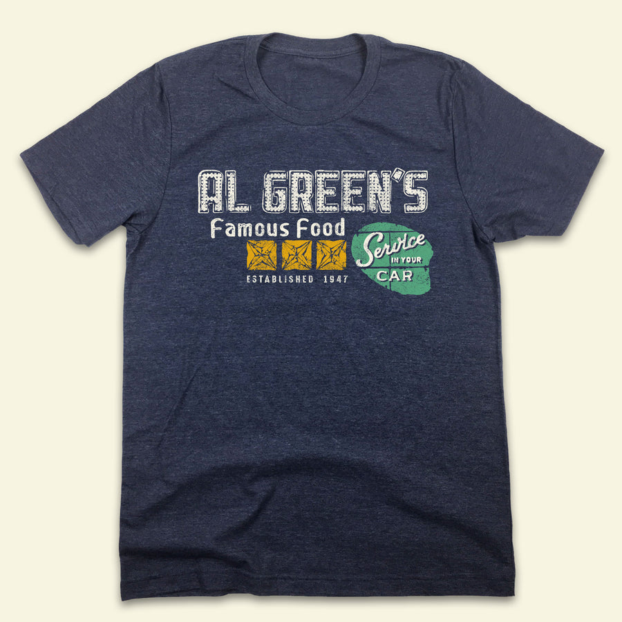 Al Green's Famous Drive-In Restaurant T-shirt