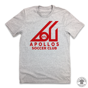 Apollos Soccer Club - Old School Shirts- Retro Sports T Shirts