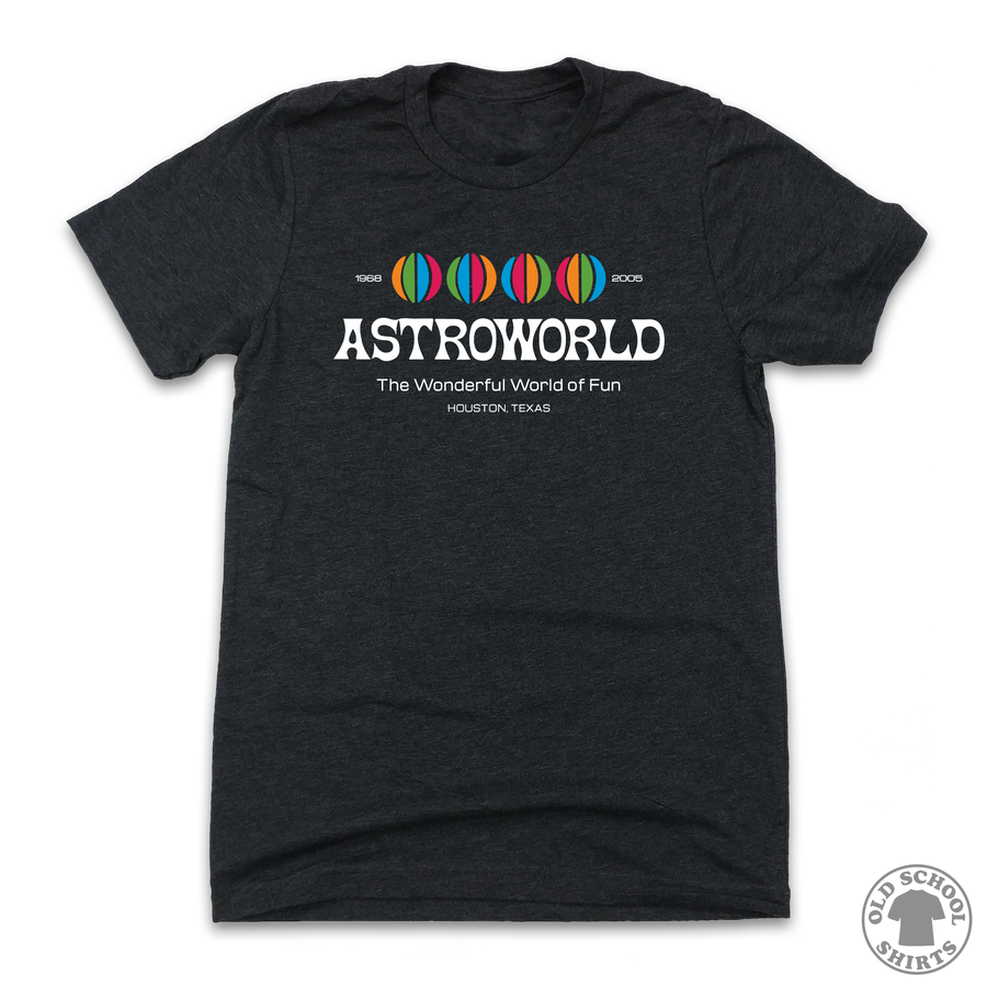 AstroWorld - Old School Shirts- Retro Sports T Shirts
