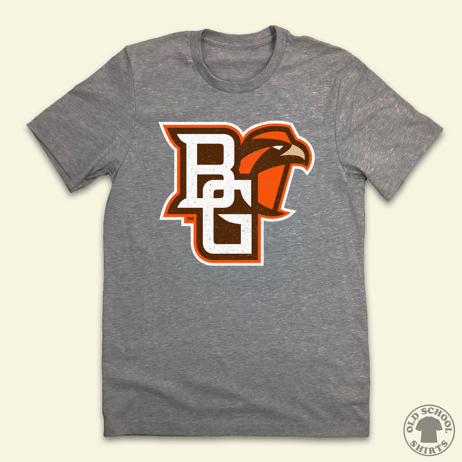 Bowling Green University Logo - Old School Shirts- Retro Sports T Shirts