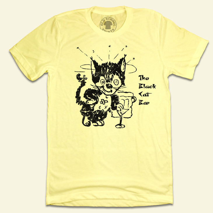 The Black Cat Bar San Francisco T-shirt