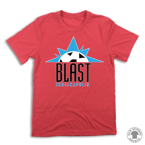 Indiana Blast Soccer - Old School Shirts- Retro Sports T Shirts