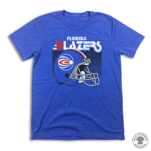 Florida Blazers World Football League - Old School Shirts- Retro Sports T Shirts