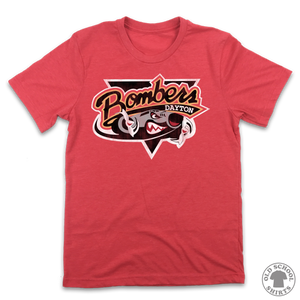 Dayton Bombers - Old School Shirts- Retro Sports T Shirts