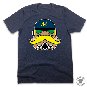 Brewers Trooper - Old School Shirts- Retro Sports T Shirts