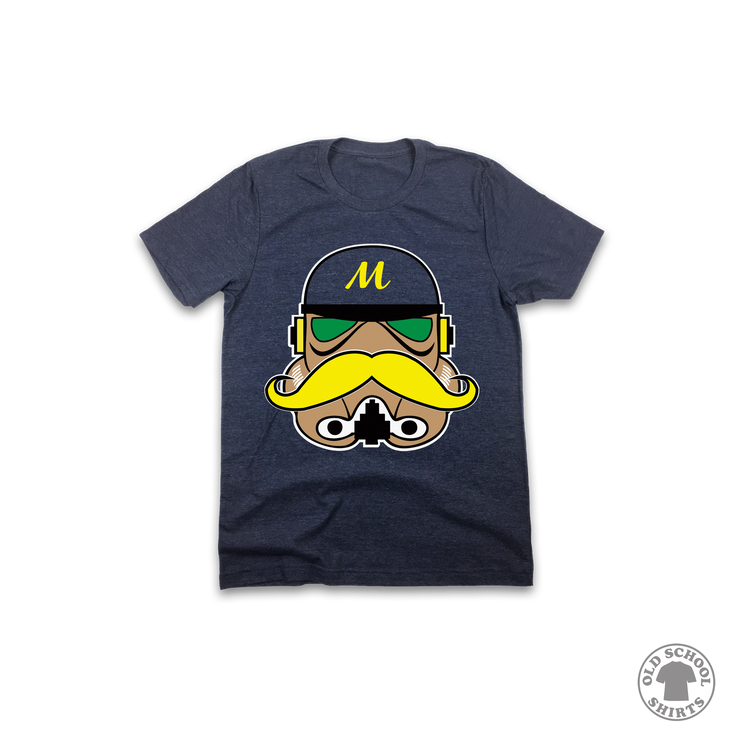 Brewers Trooper - Youth Sizes - Old School Shirts- Retro Sports T Shirts