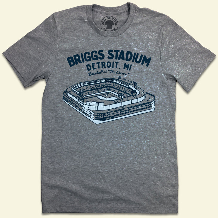 Briggs Stadium T-shirt Detroit