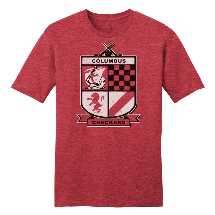 Columbus Checkers hockey T-shirt