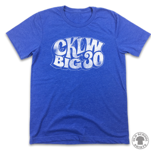 CKLW Big 30 Hits List Logo T-Shirt - Old School Shirts- Retro Sports T Shirts