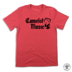 Camelot Music - Old School Shirts- Retro Sports T Shirts