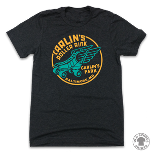 Carlin's Park Roller Rink - Old School Shirts- Retro Sports T Shirts