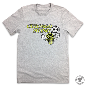 Chicago Sting - Old School Shirts- Retro Sports T Shirts