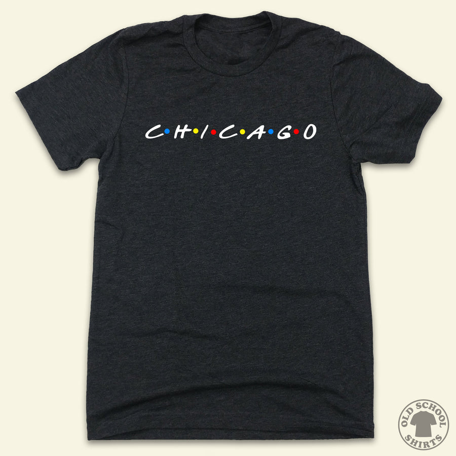 C·H·I·C·A·G·O - Old School Shirts- Retro Sports T Shirts