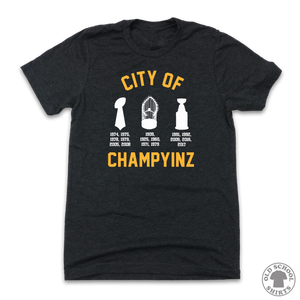 City of Champyinz - Old School Shirts- Retro Sports T Shirts