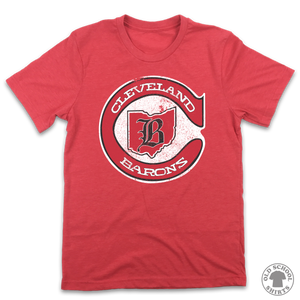 Cleveland Barons - Old School Shirts- Retro Sports T Shirts