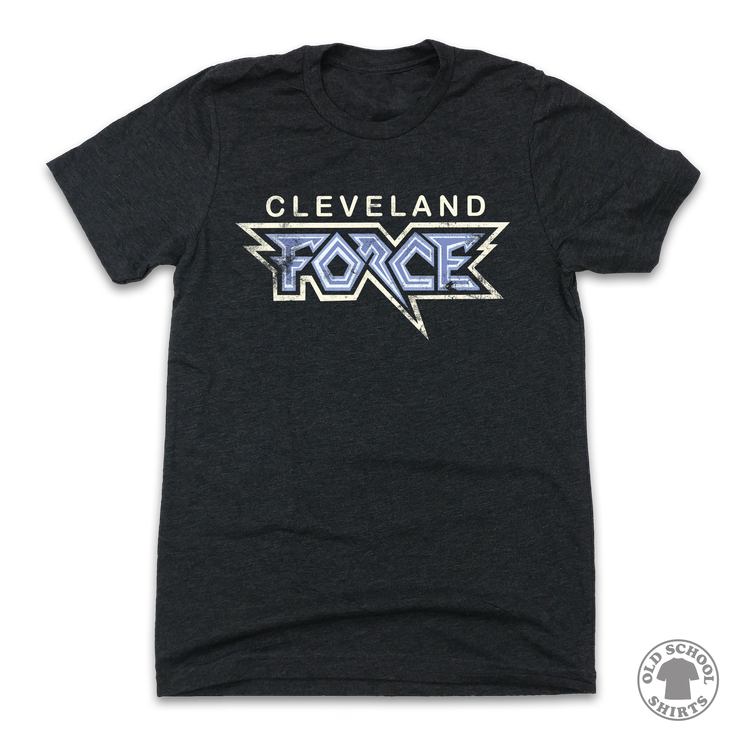 Cleveland Force 2002 - Old School Shirts- Retro Sports T Shirts