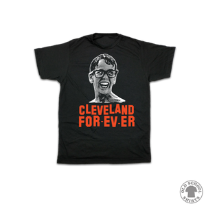 Cleveland For-Ev-Er | Youth Garments - Old School Shirts- Retro Sports T Shirts